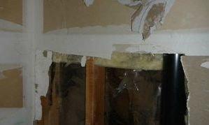 Restoration Of Water Damaged Walk In Closet